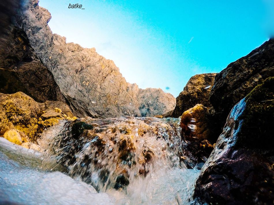 Triglav Triglav National Park Nature Rock - Object Sunlight Tranquility Beauty In Nature Scenics Tranquil Scene Day Outdoors Clear Sky Water Landscape Mountain