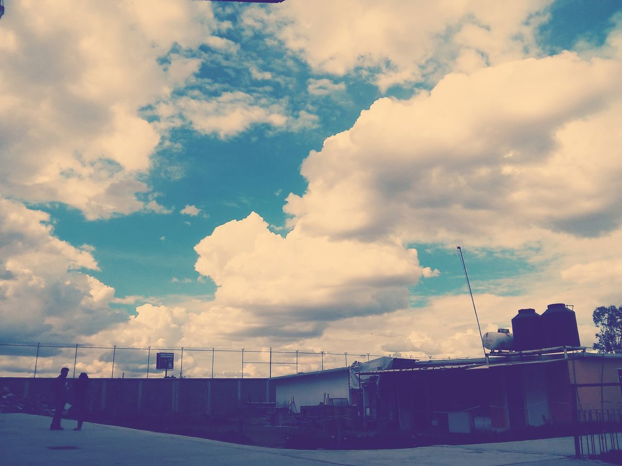 cloud - sky, sky, men, real people, outdoors, transportation, day, architecture, nature, people