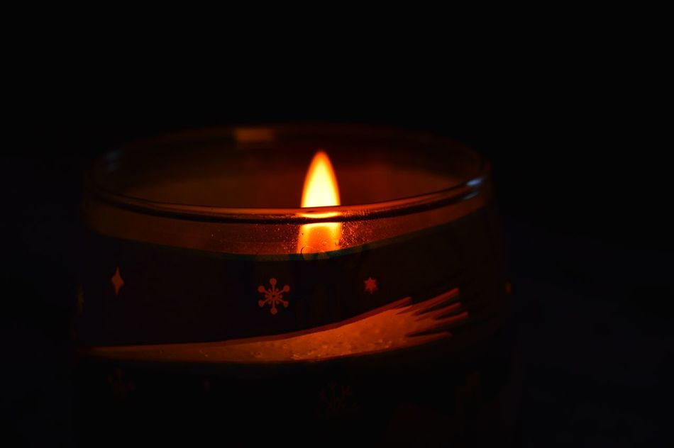 MerryChristmas Forall Flame Black Background From My Point Of View Silence