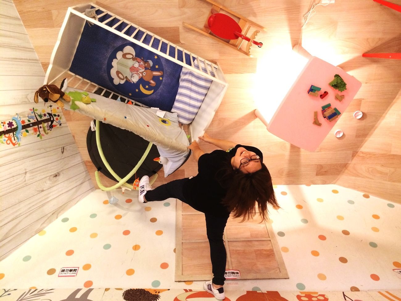 Upside down 華山顛倒屋 Upside Down House Taipei 2016