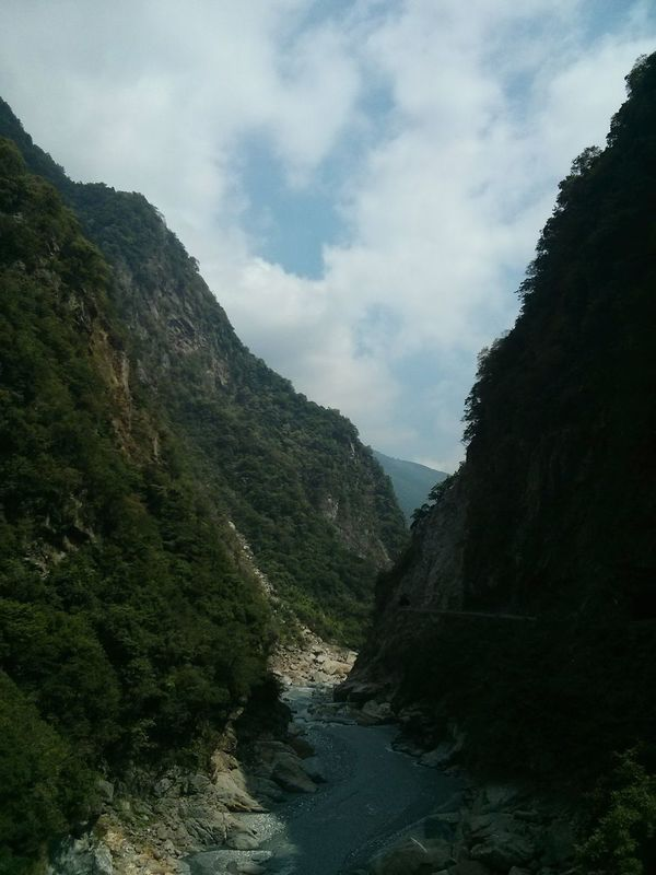 Taroko National Park, Taiwan. · Gorge Landscape Nature Fresh Air Great Views Clouds And Sky