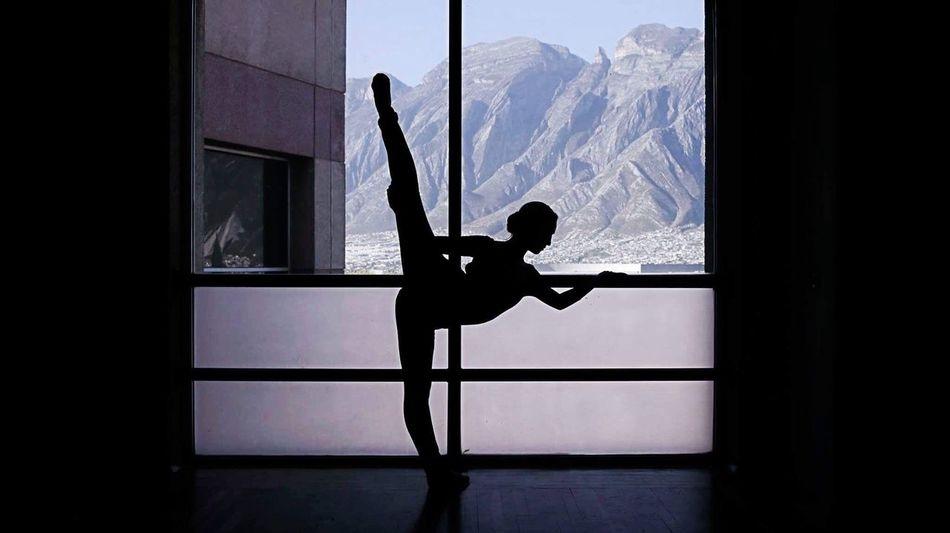 Ballerina - Ballet Dancer Dance Mountain Indoors