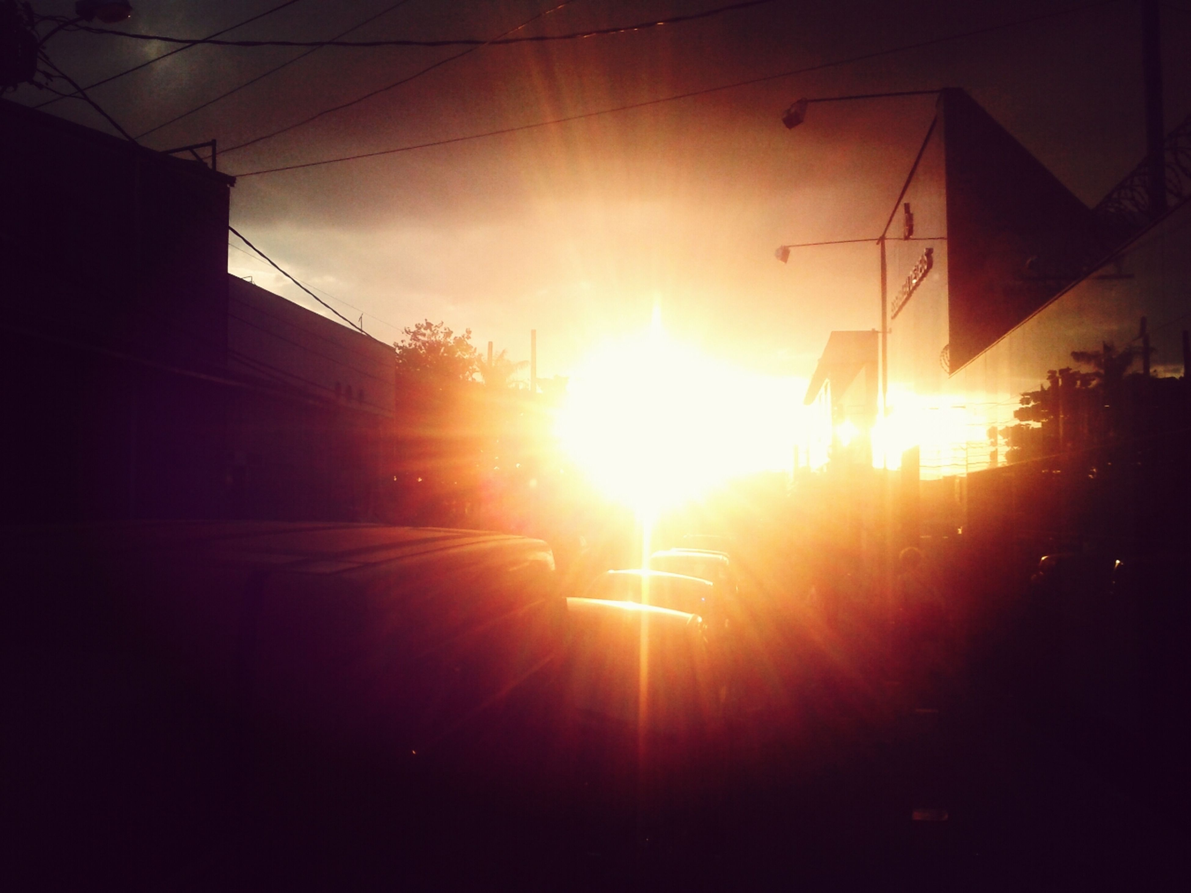 sunset, sky, sun, no people, nature, outdoors, day