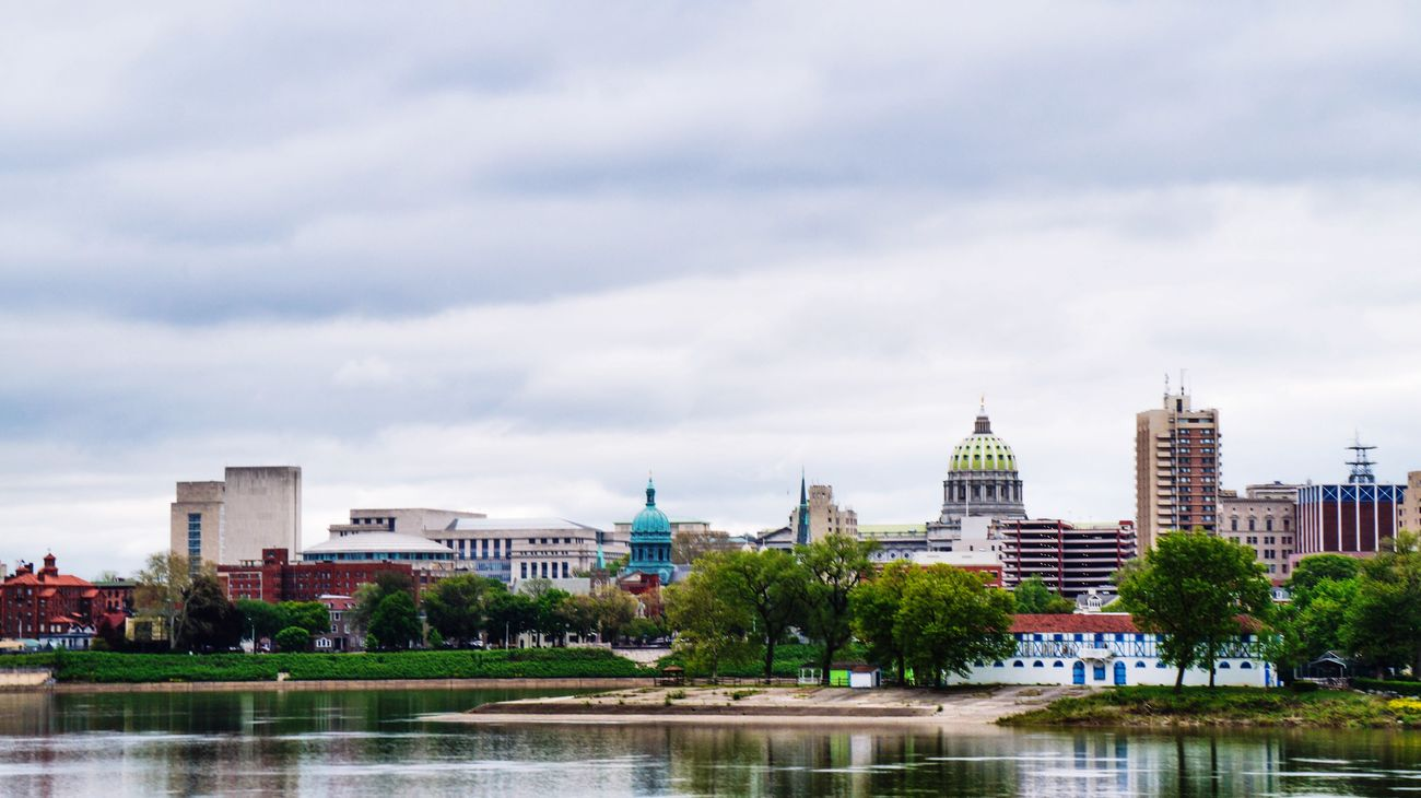 Harrisburg Pennsylvania Capitol Architecture Cityscapes Skyline Sky And Clouds Check This Out