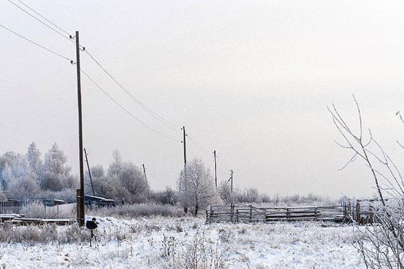 Клин Klin Klinonline Landscape пейзаж Русино Россия деревня