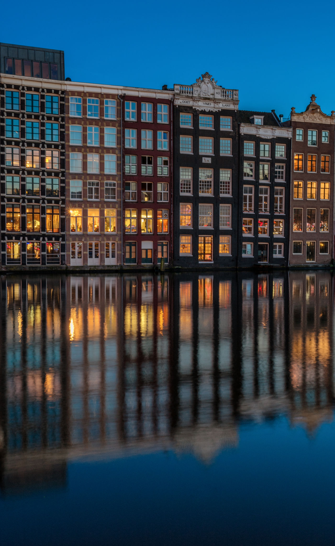 Beautiful stock photos of amsterdam, reflection, building exterior, water, city