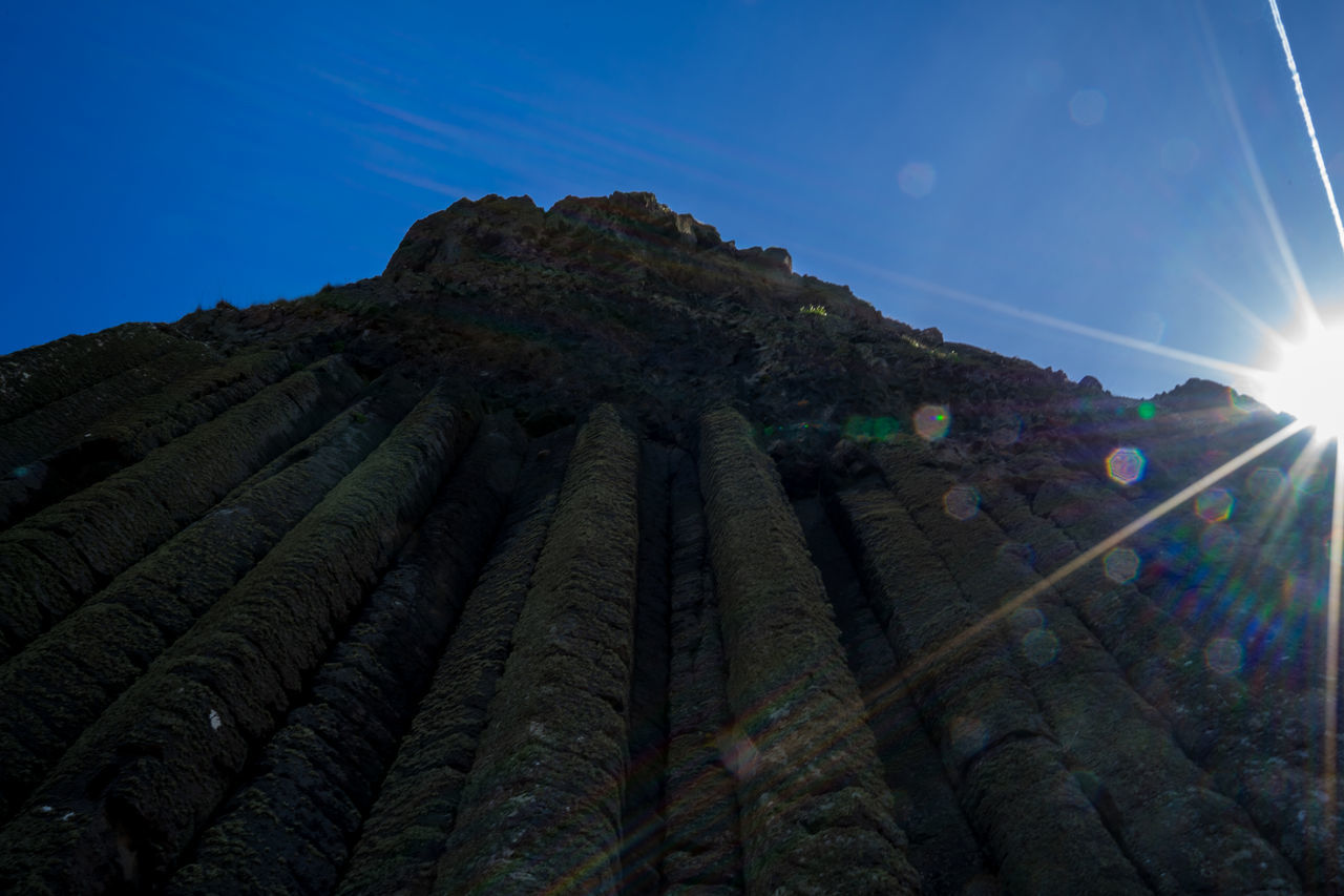 Architecture Beauty In Nature Day Giant's Causeway GiantsCauseway Low Angle View Nature No People Northern Ireland Northernireland Outdoors Sky