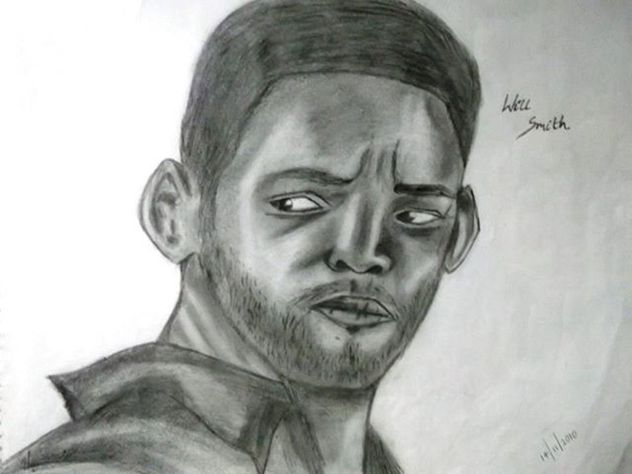 This was my 3RD PORTRAIT SKETCH probably back in 2010...Willsmith..inspired by HANCOCK.. Willsmith Willsmithquotes Funky Meninblack Entertainer Best  Persuitofhappiness Artist Artist Gallery Sketch Sketchers Pencilsketch Portrait Imperfection Hobby NotTRAINED Inspiration Kickass Loved LetsGetIt