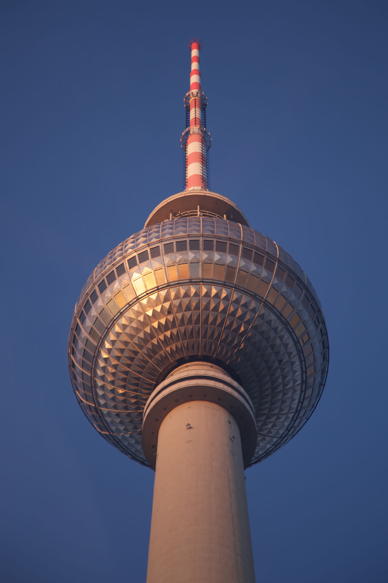 Architecture Berlin Berliner Ansichten Broadcasting Built Structure City Clear Sky Communication DDR Futuristic Geodesic Dome Geometric Shape German No People Outdoors Retro Sky Soviet Soviet Architecture Sphere Status Tall - High Tower Travel Destinations TV Tower