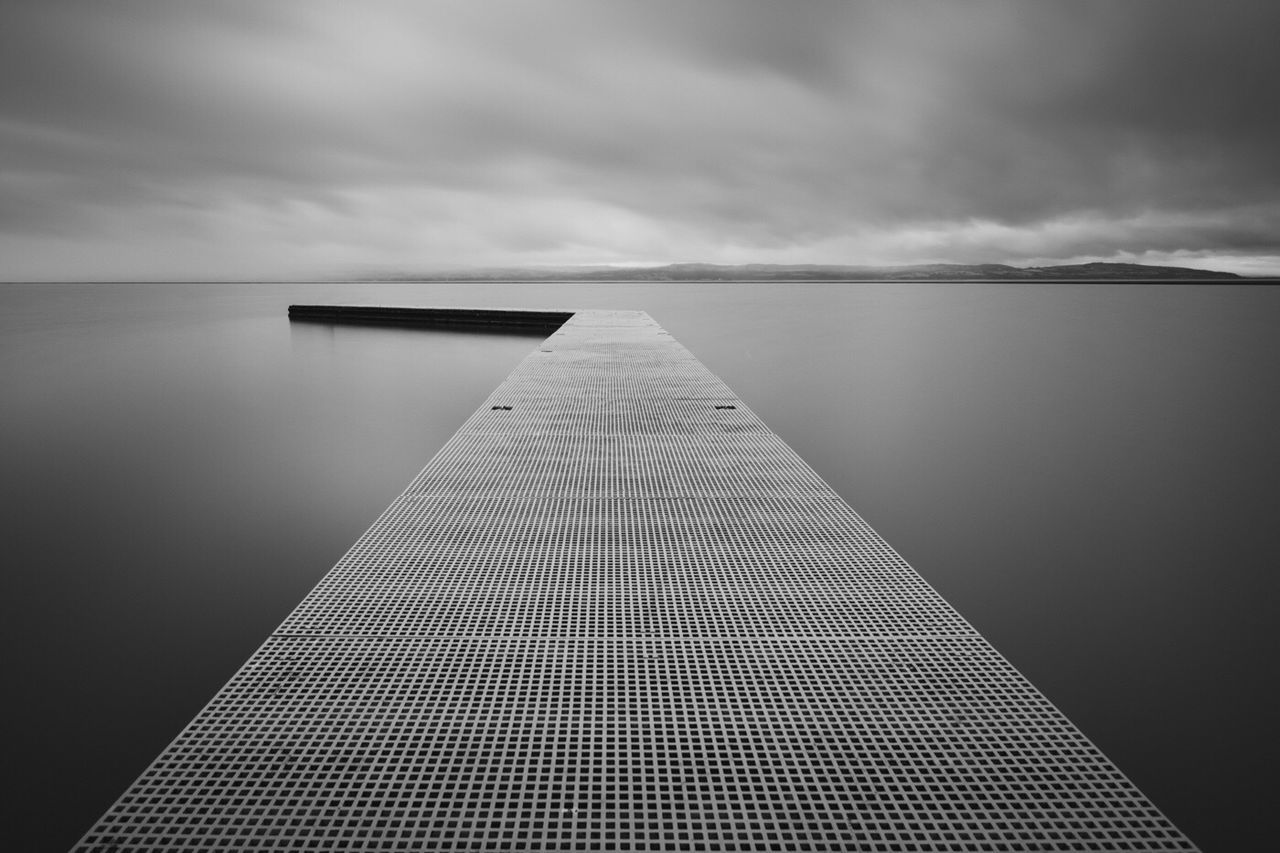 Jetty Jetty View Rain Rainy Days Rainy Day Mood Moody Sky Atmosphere Day Atmospheric Mood Monochromatic Monochrome Black & White Weather Textures And Surfaces Texture Blackandwhite