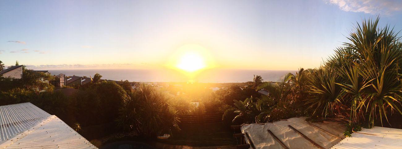 Sunset 🌴☀️❤️ Enjoying Life Reunion Island Paradise! Taking Photos
