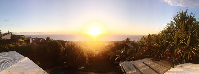 Sunset 🌴☀️❤️ Enjoying Life Reunion Island Paradise! Taking Photos