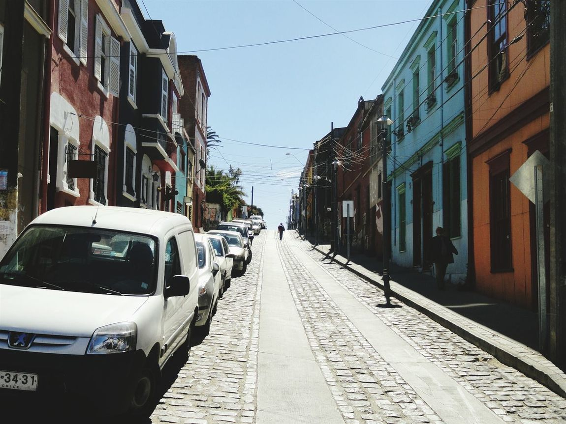 Valparaíso Chile Cityscapes Architecture Colors Colored Houses Chasing Light Travel