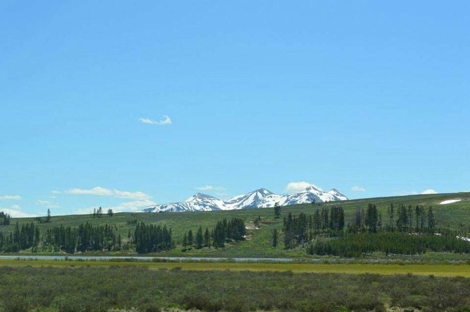 Wyoming Yellowstonenationalpark Yellowstone Nationalpark Grandtetons Grandtetonnationalpark Hellograndtetons Mountain Range Mountains And Sky Landscape_photography