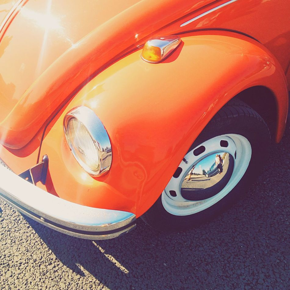 Volkswagen Beatle Car Sunlight Chrome Red Smotra Mylove
