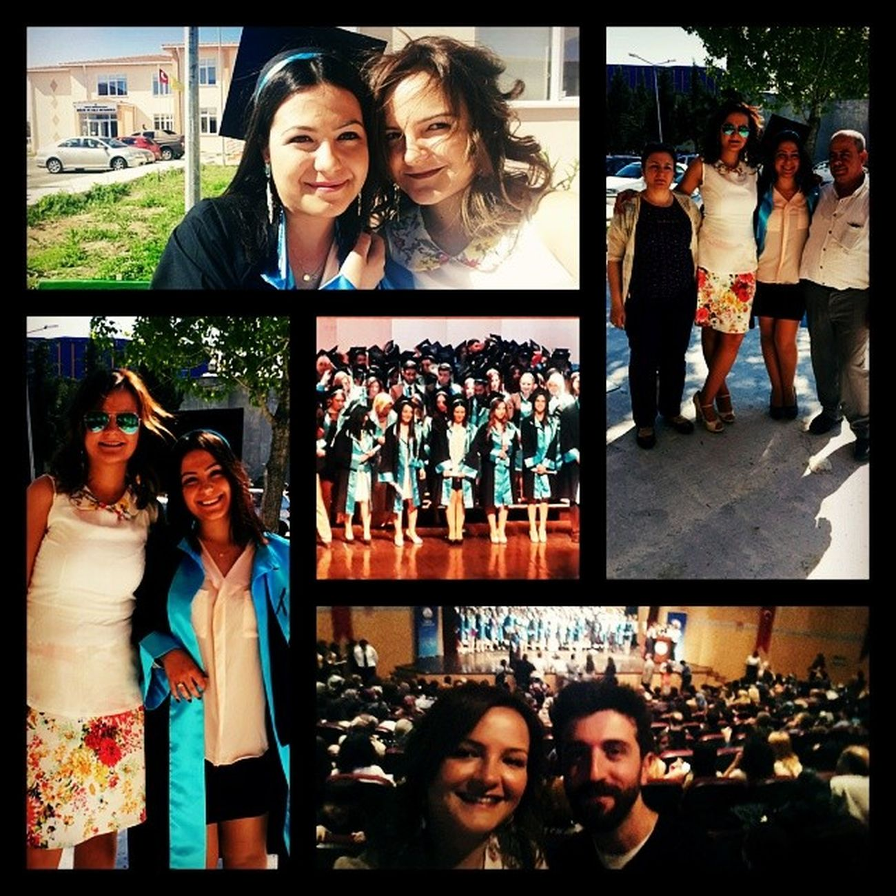 Birileri mezun oldu. Heysista Trakyauni Mimariresto