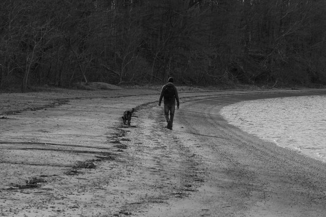 A man and his best friend Photoflexx EyeEm Best Edits Scenery Shots Landscape #Nature #photography Landscape_photography EyeEm Best Shots - Black + White Nikontop Picoftheday Nikon Dslr Amateurphotographer  Showcase March Nikon_photography_ Eye4photography  EyeEm Best Shots Nikond3300 Black And White Nikonphotographer Monochrome Black And White Portrait Blackandwhite Photography NikonLife Beaches EyeEm Masterclass Shootermag