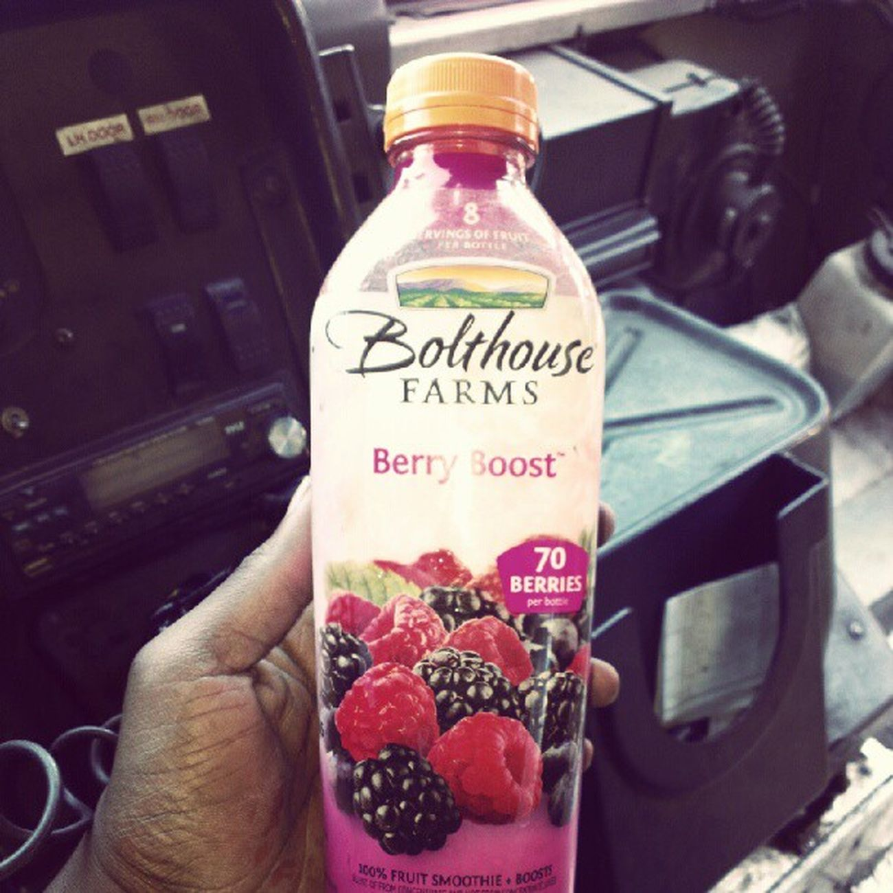 Maaaan this juice went so HARD big ups to Bolthousefarms I think they read my mind.....70berries Allnatural 100 %fruit