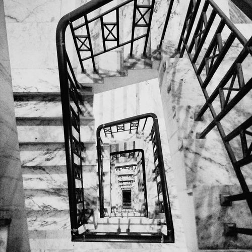 Steps Steps And Staircases Stairs Hand Rail No People @blackandwhite @burrabazar,Kolkata