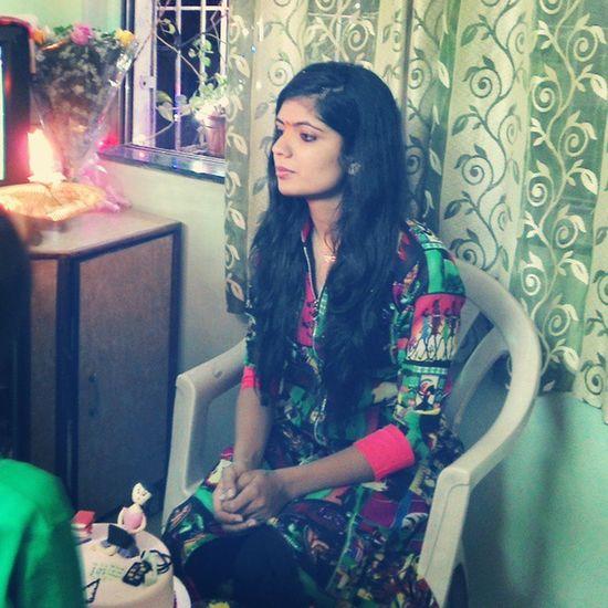 Bdaybash Surpriseparty StartsWithIndianStyle Prettycake loveMyHair throwback bestBdayEver