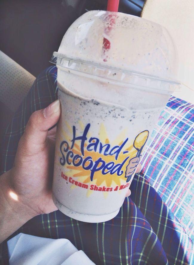 Cookies And Cream Milkshake Hardees Love