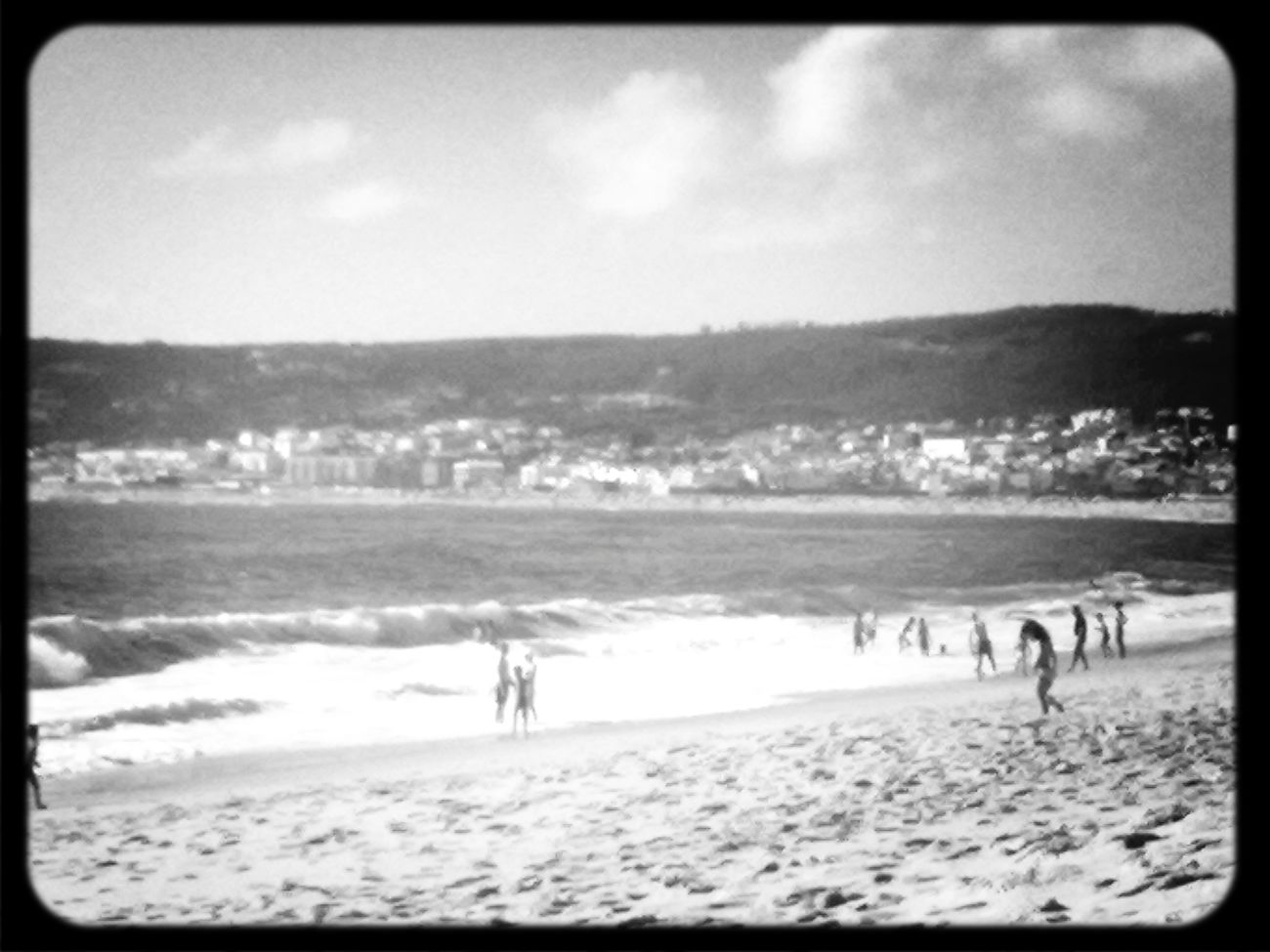 @Figueira da foz beach black and white black & white summer