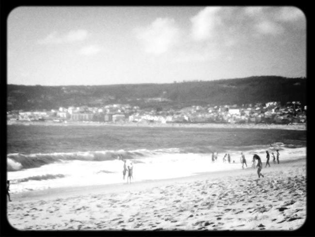@Figueira da foz beach black and white black & white summer
