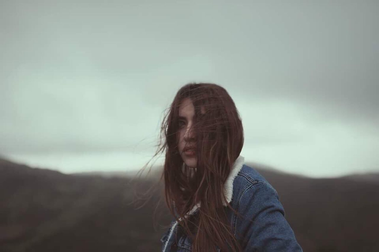 We, sons of wind. Federica, 2017. Long Hair Winter Wind One Person Brown Hair Young Adult Beauty People Outdoors Nature Earth Adventure Canon Sardegna EyeEmNewHere EyeEm Best Shots EyeEm Nature Lover EyeEm Gallery Portrait Of A Woman Portrait Girl Youth Beauty In Nature