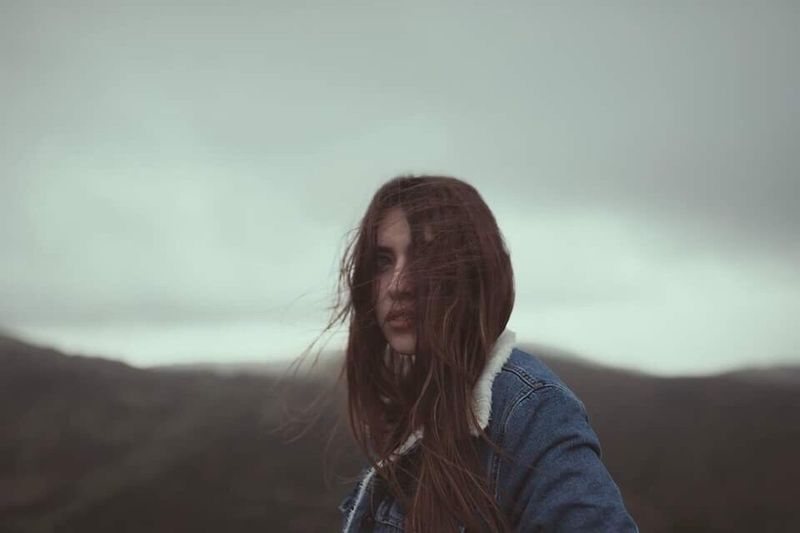 We, sons of wind. Federica, 2017. Long Hair Winter Wind One Person Brown Hair Young Adult Beauty People Outdoors Nature Earth Adventure Canon Sardegna EyeEmNewHere EyeEm Best Shots EyeEm Nature Lover EyeEm Gallery Portrait Of A Woman Portrait Girl Youth Beauty In Nature The Portraitist - 2017 EyeEm Awards