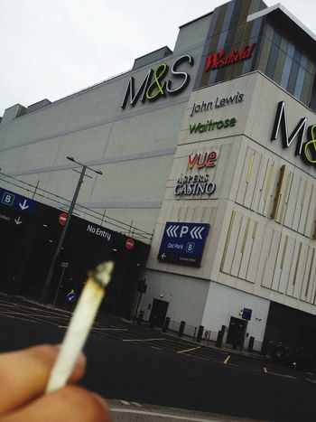 @Work. Lunch Break = Weed Session. Stratford Westfield Work Weed