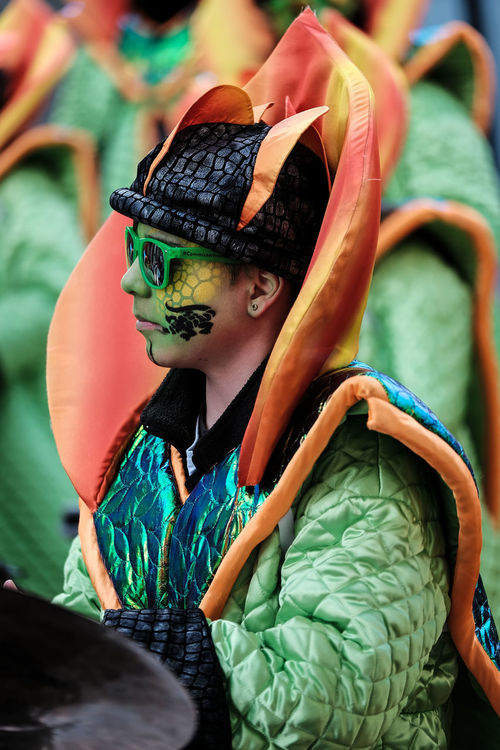 Carnaval Real People Portrait P'tiit Bulh Monthey Genolier Guggenmusik