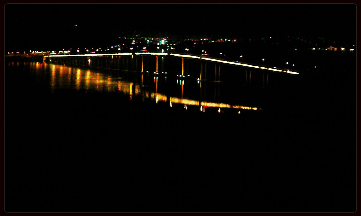 Rosny Look out at night. so beautiful. Bridge Bondingwithfriends Connected With Nature Landscape