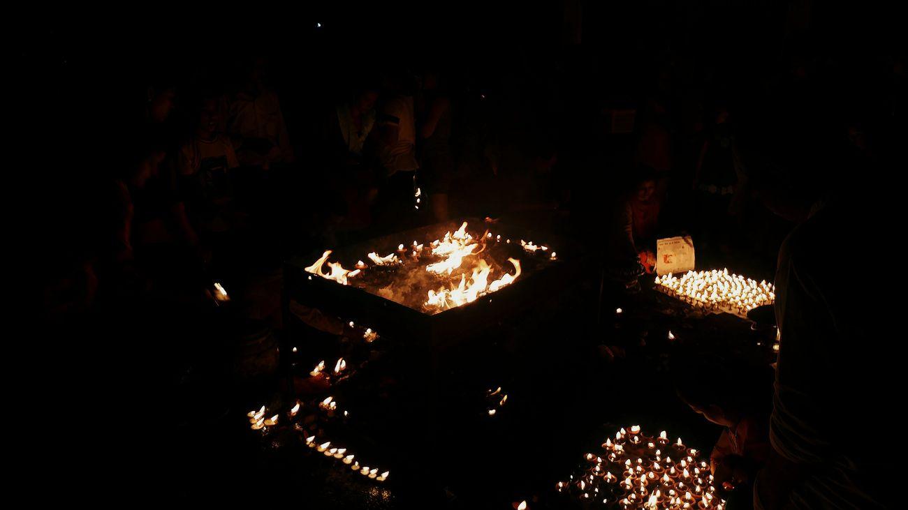 Bhoto Jatra Buttermilk Tuki Lights Bhoto Jatra Lalitpur Patan Culture Culture And Tradition Celebration Newari Illuminated Spirituality Lights And Shadows Buttermilk Lights