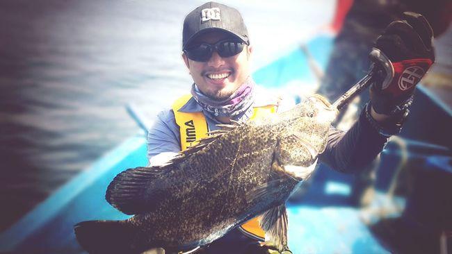 Hehehehe.. sand barramundi 3kg! Fishing Malaysia Enjoying Life That's Me