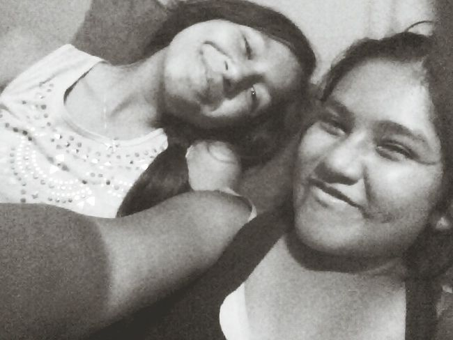 im know we ratchet but shes my bestfriend <3