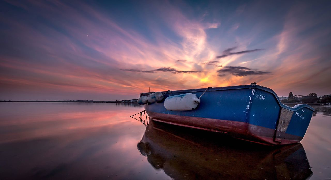 Beautiful stock photos of sunset, Beauty In Nature, Boat, Idyllic, Mode Of Transport