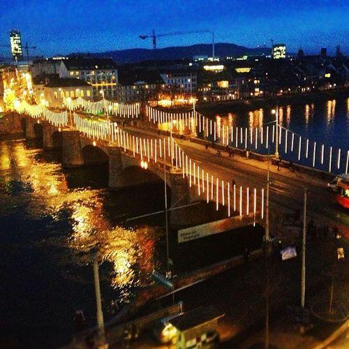 Es Weihnachtet in Basel Schweiz Switzerland