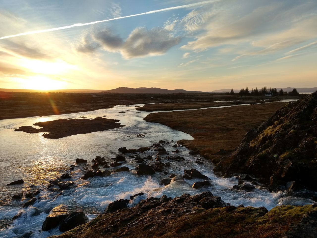 Beauty In Nature Iceland Landscape Nature No People Outdoors Sky Thingvellir National Park Water Þingvellir National Park