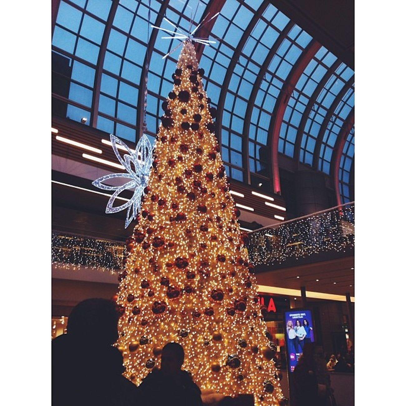 Christmastree Itis  Helsinki Finland shoppingcenter beautiful christmas