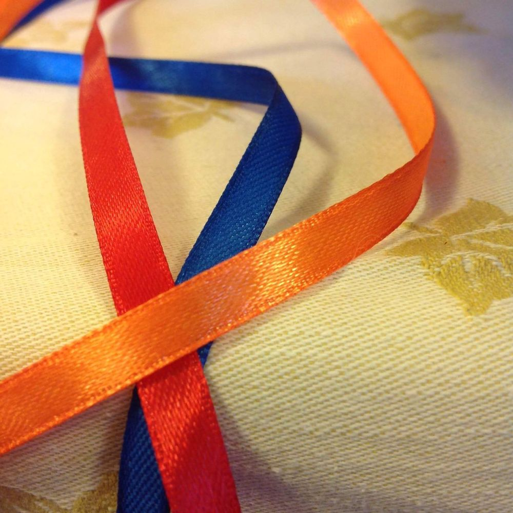 Armenia Armenian Flag Blue Color Close-up Day Indoors  Multi Colored No People Orange Color Red Color