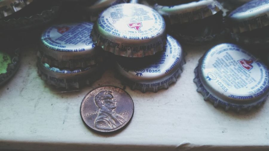 Lucky Charms Lucky Penny Bottle Cap Thums Up