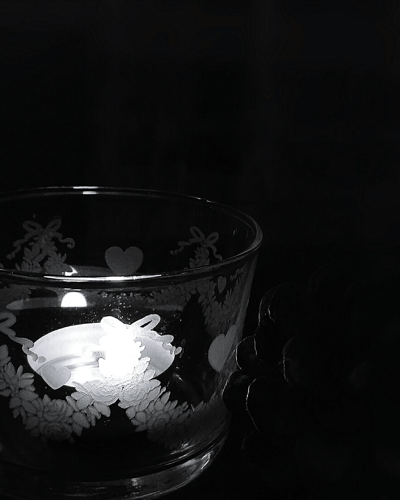 Light And Shadow No People Candle Light Black Background See The World Through My Eyes
