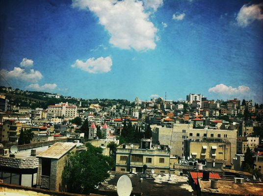 City at Nazareth by Mona  abo shhady