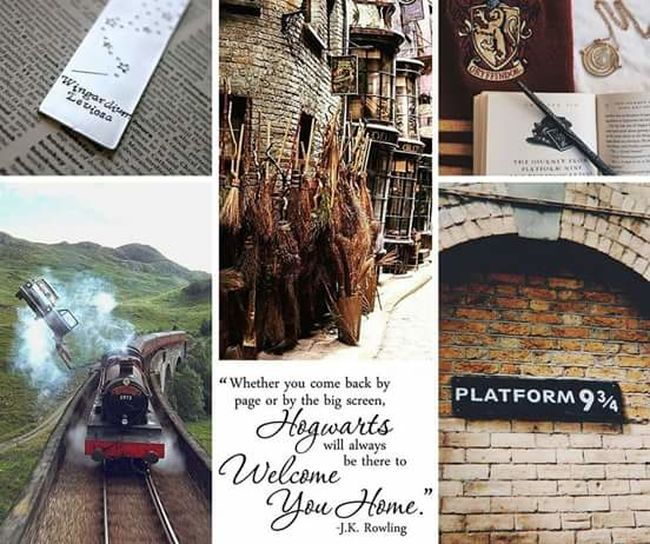 Canonphotography Photography Collage Pictures Harry Potter Harry Potter ❤ Harrypotterworld Harrypotterfan