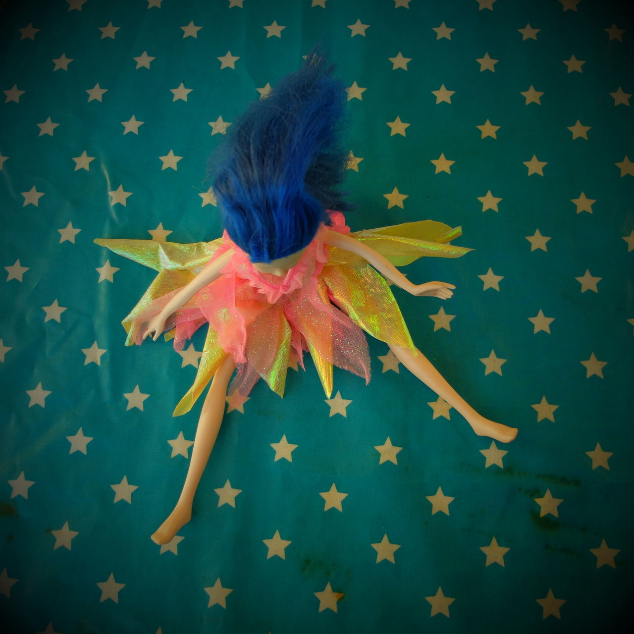 Childhood Close-up Doll From The Top Indoors  Staging Standing Stars Toy