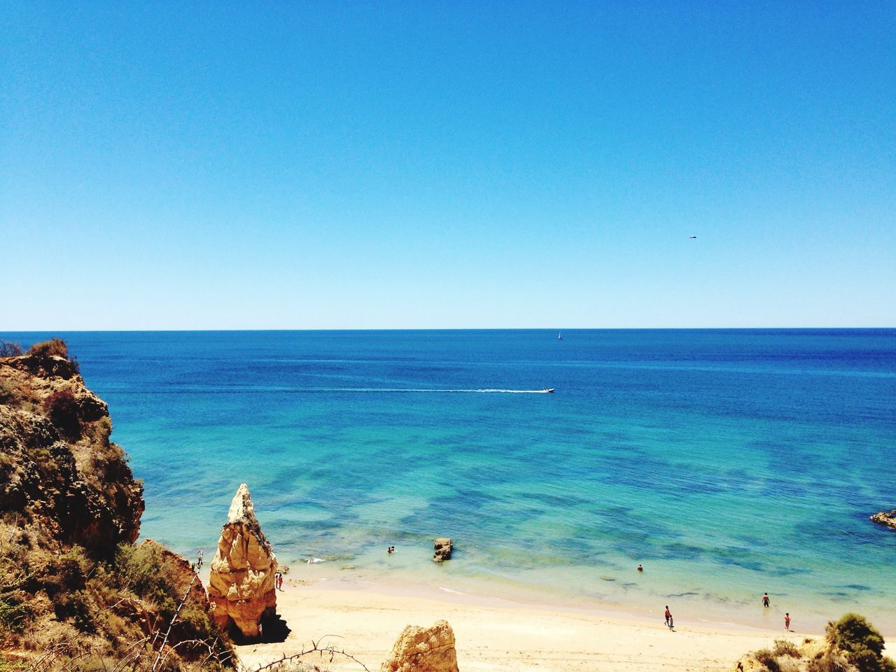 Portugal Life Is A Beach Turquoise By Motorola Beach Check This Out Enjoying The View Eye4photography  EyeEm Best Shots Peace ✌ Taking Photos