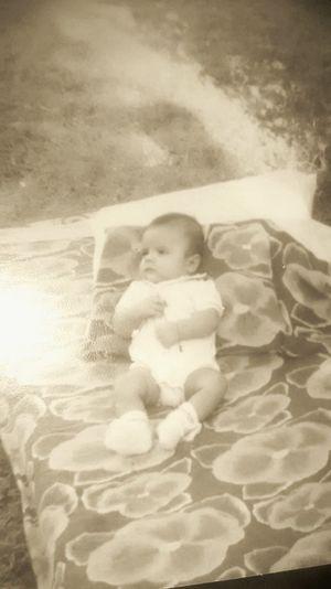 Eu aos seis meses....