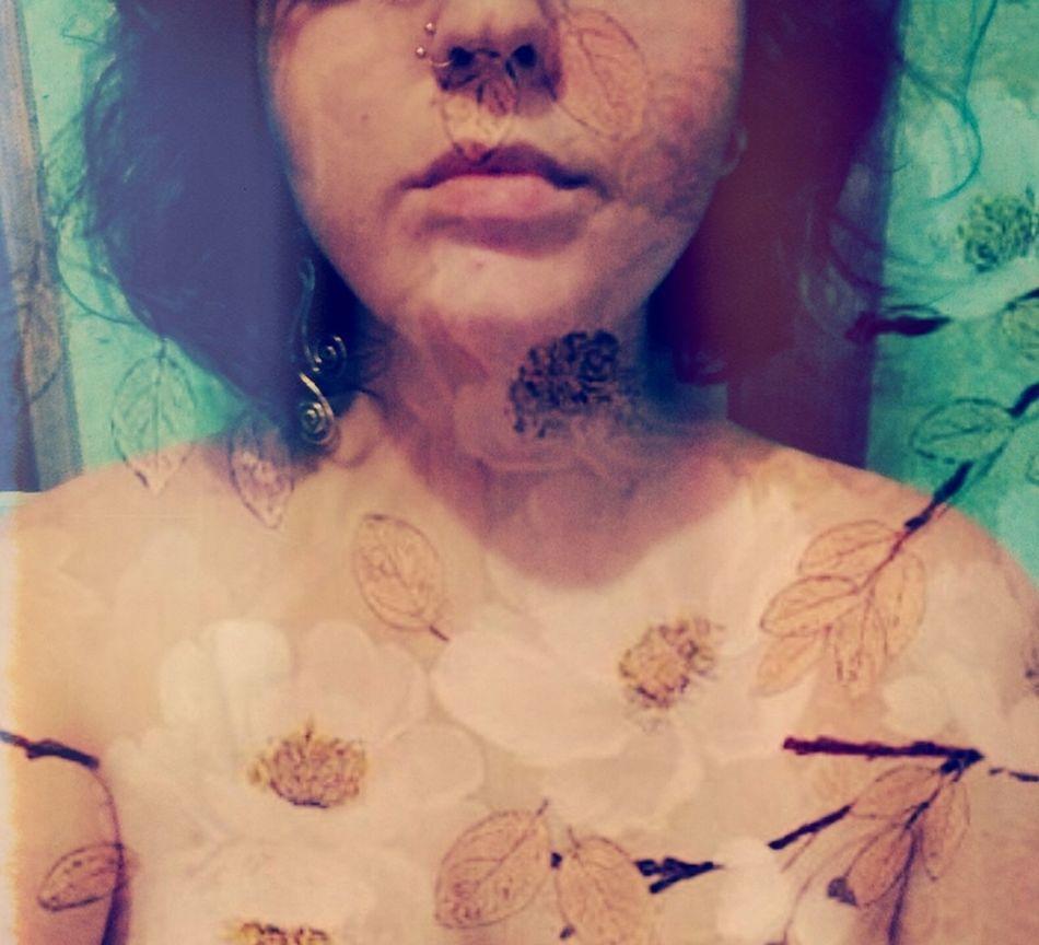 Autoretrato Selfie Portrait Empoderamento Liberdade Nu Art Angustias Transformation Transformação Resistencia Corpo Nu Artistique Mulher Flores Theportraitist-2016eyeemawards