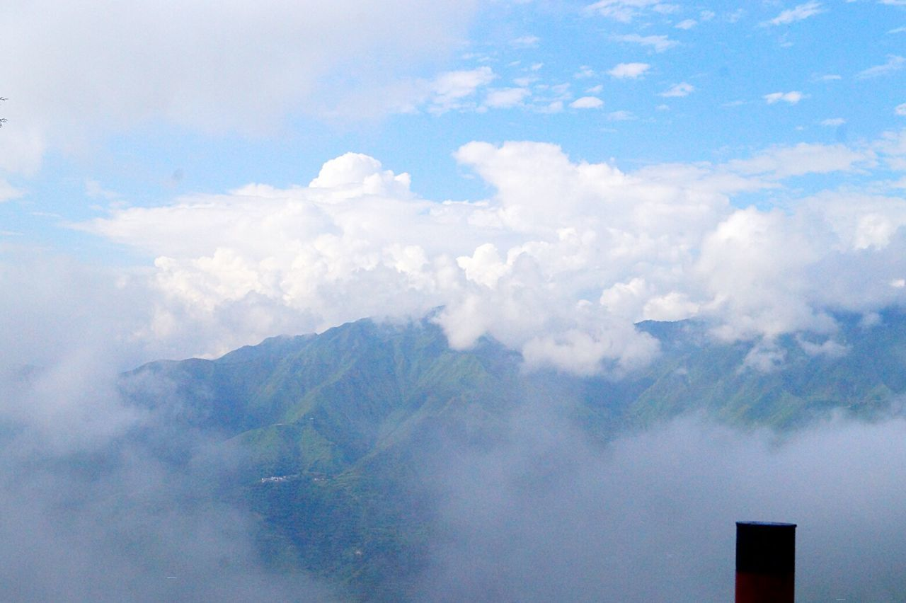 divine view from the top of the hillShowcase: December Clouds Nature Himalayas Wonderlust Mussoorie Beautiful Enjoying Life