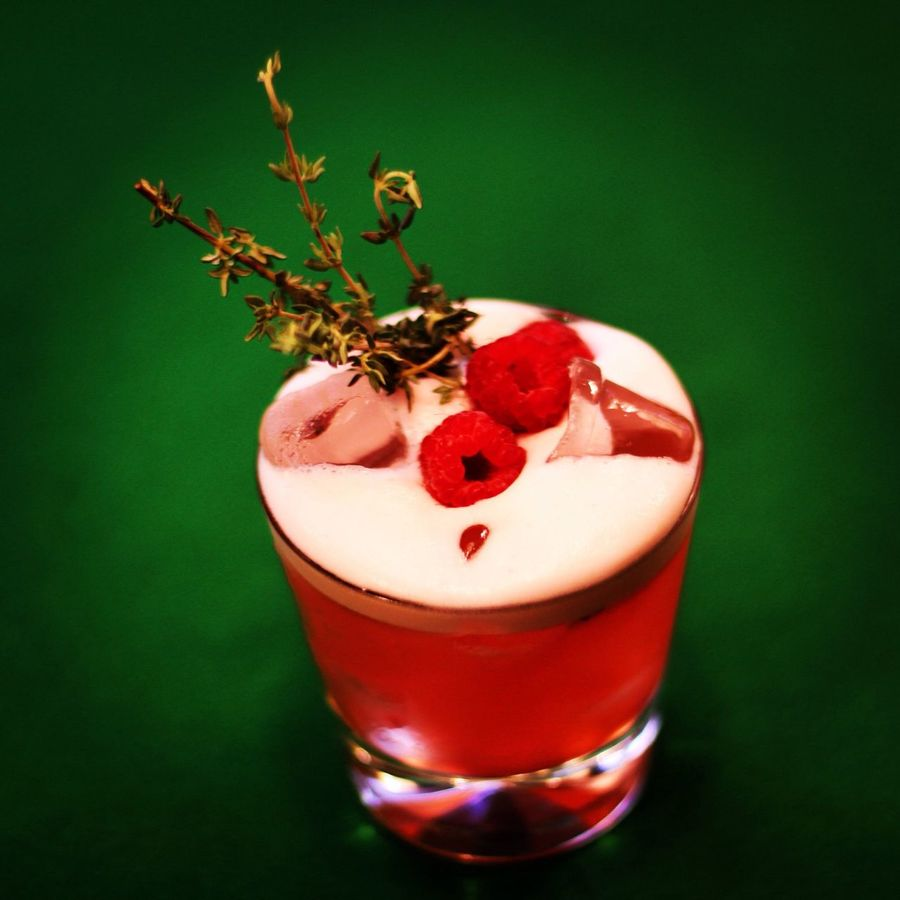Scotch Whisky Cocktails Raspberry Rosemary